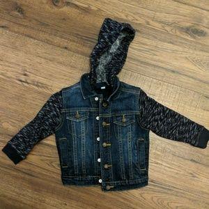 Toddler jean jacket